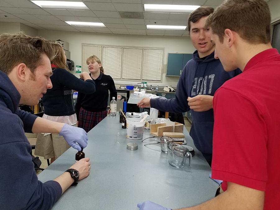 Soap Making Class at John Adams Academy 005